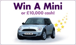 Win a Car or £10,000 Cash - Free Prize Draw