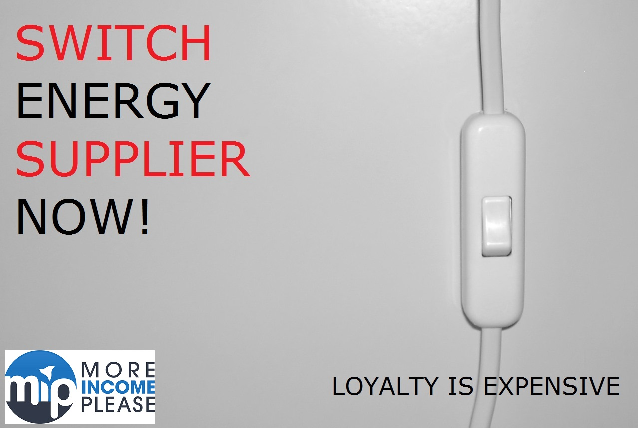 Customers Switching Energy Suppliers - from More Income and Savings
