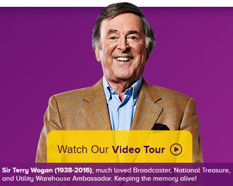 Sir Terry Wogan - Utility Warehouse Video Tour - NPower Prices Raised